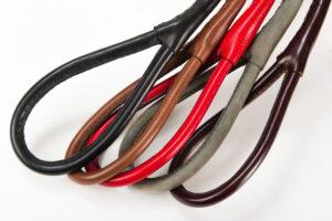 choke leather leash handle