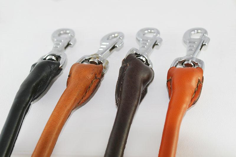 Workshop Sauri - handmade leather leashes