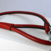 Workshop Sauri - red leather leash