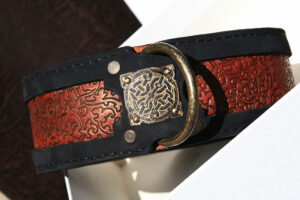 Sauri - Sekhmet personalized dog collar