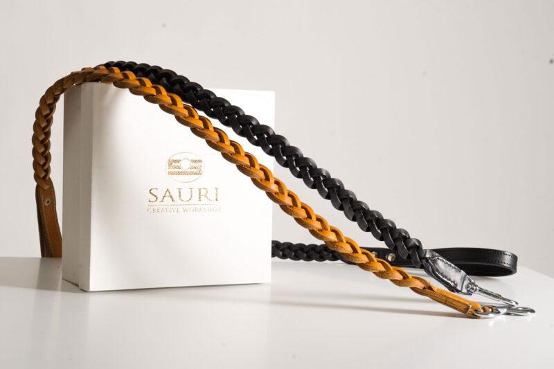 Leather dog leash by Workshop Sauri