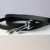 Flat leather lead