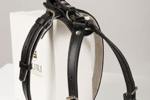 Working dog leather harness