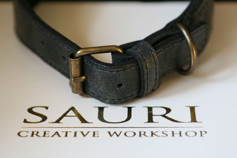 Carroll Greyhound Collar by Workshop Sauri