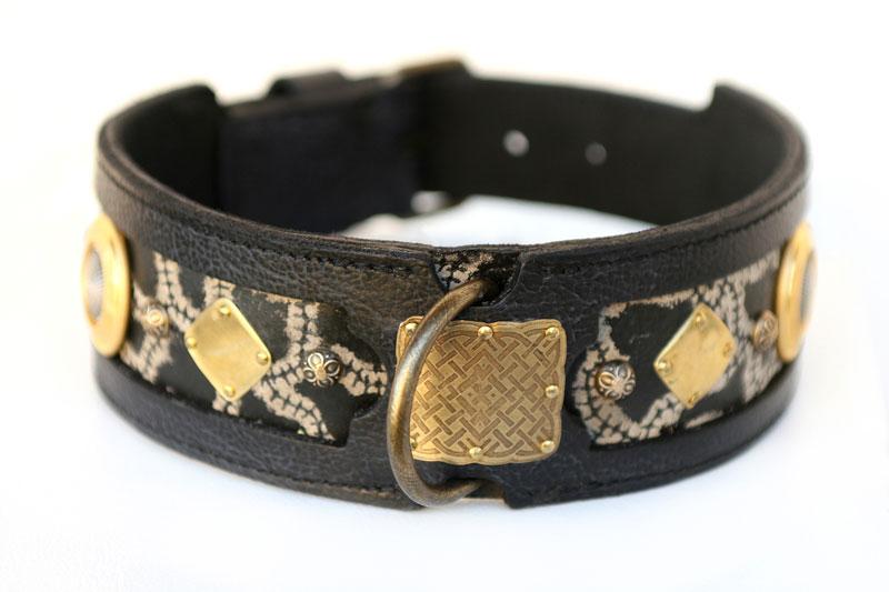 Mythos Dog Collar by Workshop Sauri