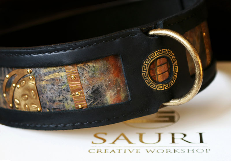 SARGA dog collar by Workshop Sauri