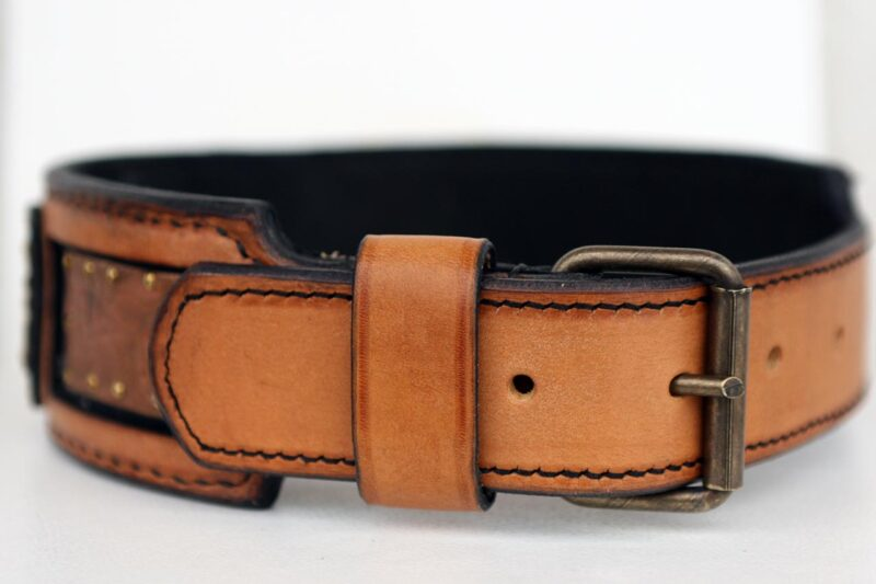 Shiraz Dog Collar Stitching