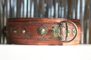 Darjeeling Dog Collar Embossing