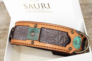 Madava unique dog collar by Workshop Sauri