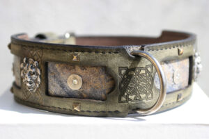 Margey - Great Dane Dog Collar by Workshop Sauri