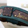 Customized Kairos dog collar by Sauri workshop