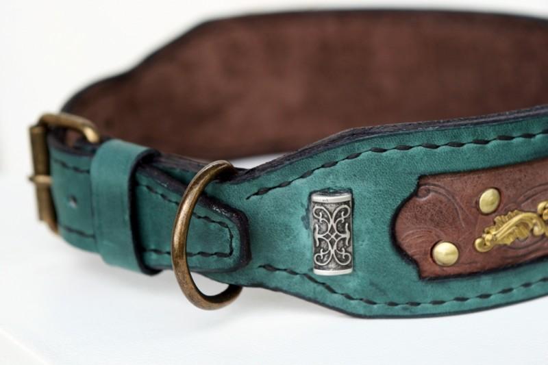Customized Kairos dog collar decorative rivet