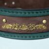 Customized Kairos dog collar ornamental brass stamping
