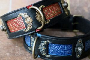 Large breed dog collars by Workshop Sauri