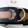 Seraphim dog collar by Workshop Sauri