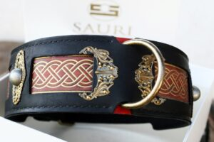Seraphim dog collar by Workshop Sauri