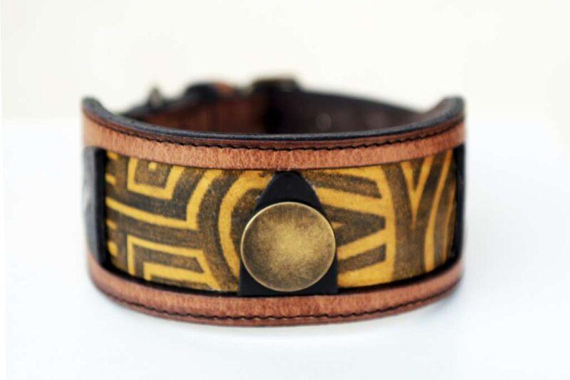 Workshop Sauri - Luangva sighthound collar central ornament