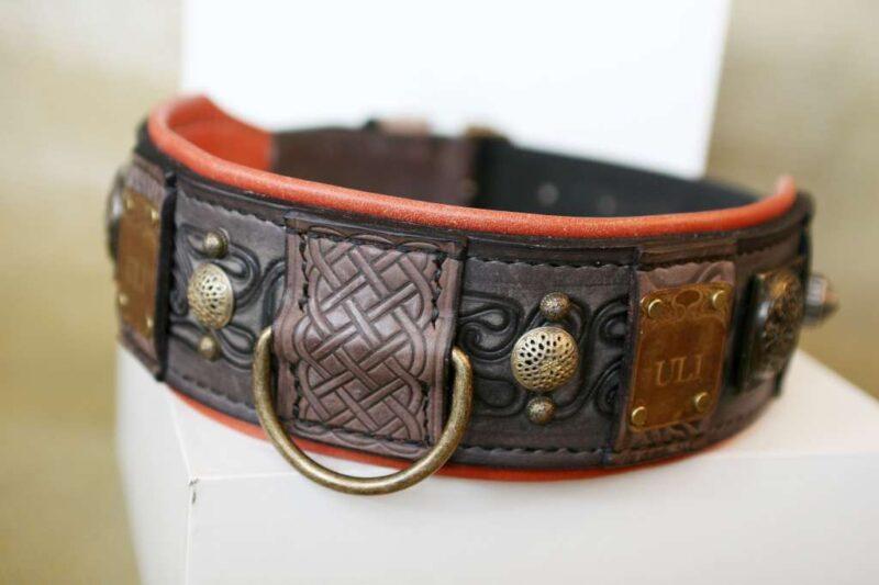 Medieval dog collar by Workshop Sauri