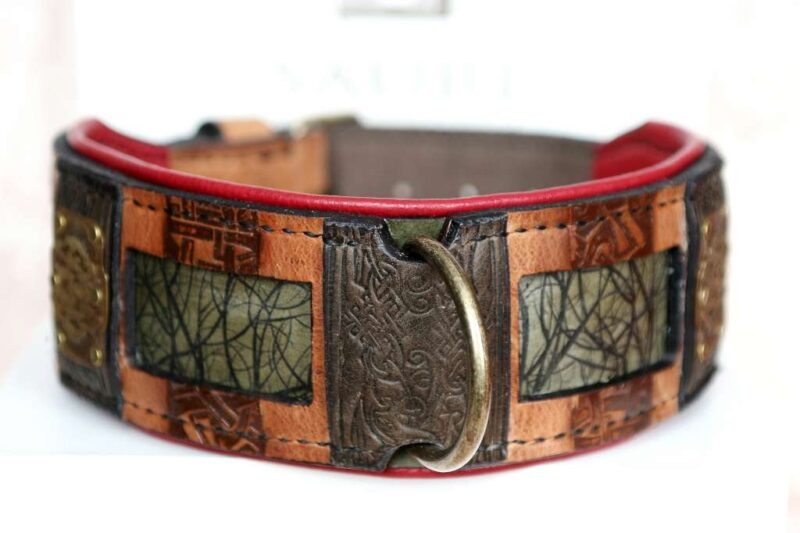 Handmade dog collar Yokozuna by Workshop Sauri