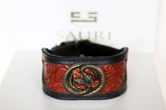 Azawakh dog collar handmade by Workshop Sauri