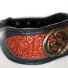 Unique azawakh dog collar handmade by Workshop Sauri