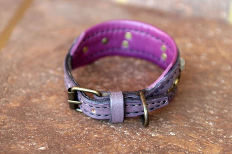 Personalized extra small dog collar by Workshop Sauri