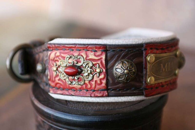 Personalized dog collar for small dogs MIA by Workshop Sauri