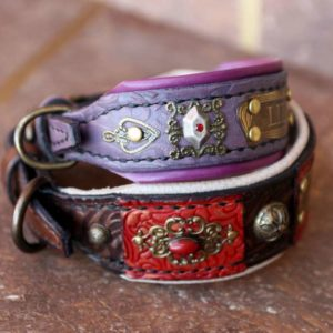 Small personalized dog collars by Workshop Sauri