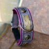 Elegant personalized dog collar ATHENA by Workshop Sauri