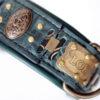 Personalized Viking dog collar LOKI by Workshop Sauri